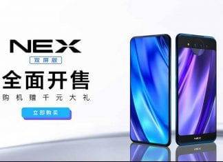 Vivo Nex Dual Screen