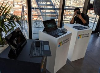 Microsoft Surface en Madrid