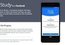 Study, app de espionaje de Facebook
