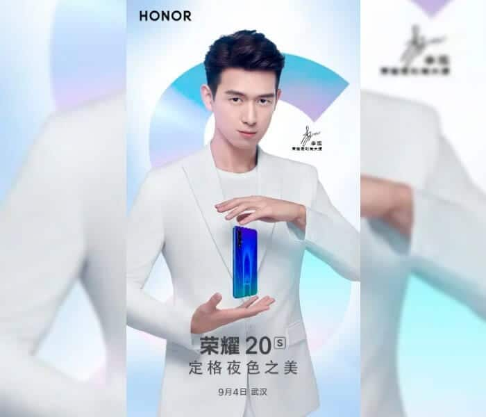 Honor 20S con Android 10