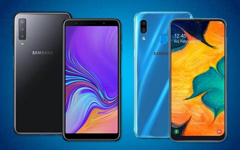 Galaxy A30 and A7 (2018) receive security patch from September 2019 1