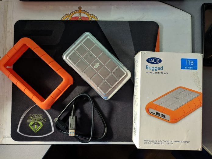 Lacie Rugged Triple