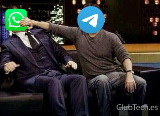 Meme Whatshapp y Telegram
