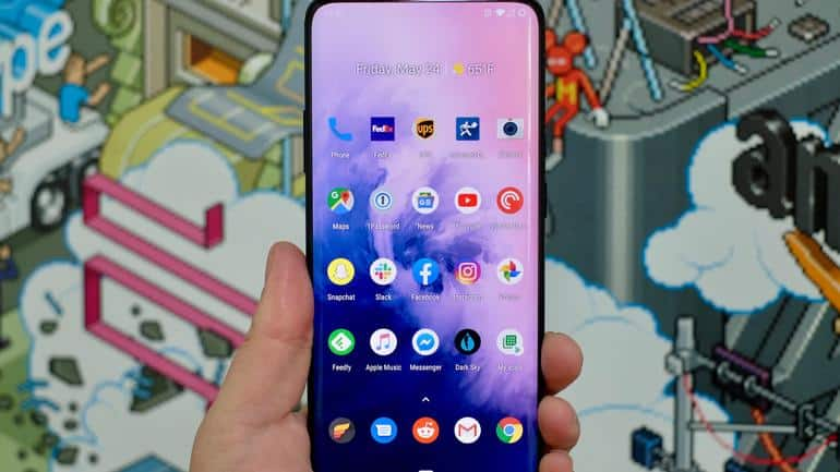 OnePlus 7 y 7 Pro con Android 10