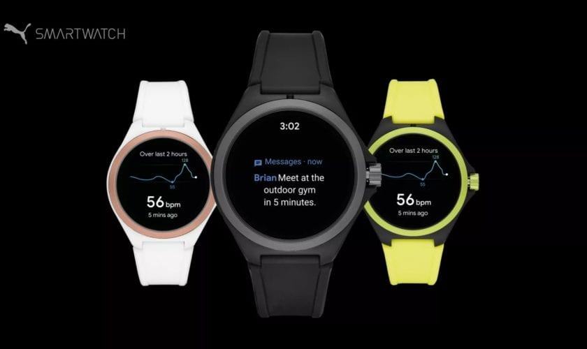 puma smartwatch weareable para running