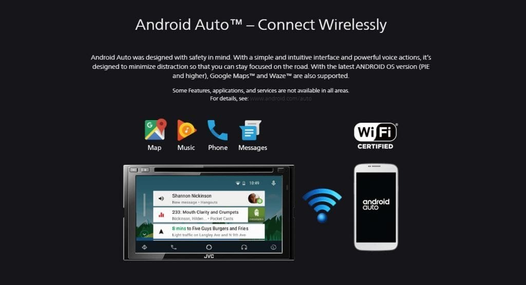 Android Auto inalambrico llega mas moviles