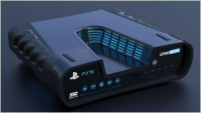diseño Play Station 5 PS5