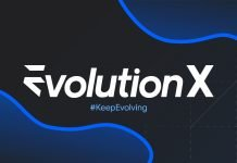 Logo de Evolution X