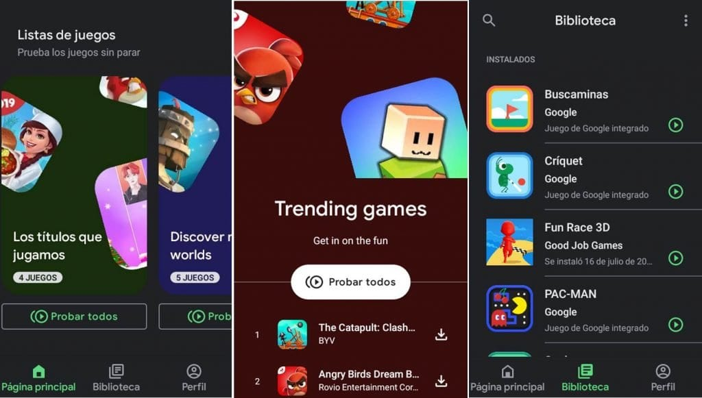New Google Play Games