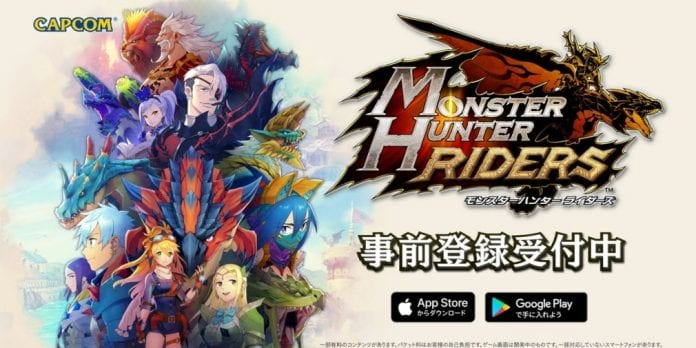 monster hunter riders juego android ios