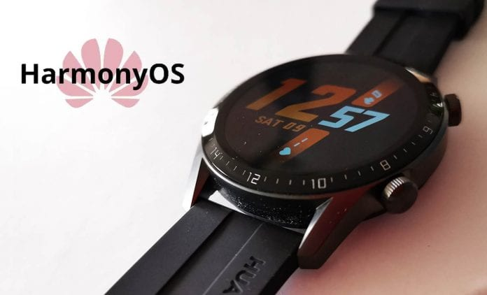 Huawei Mate Watch con HarmonyOS