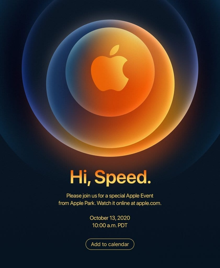 Evento de Apple 13 de octubre, iPhone 12 Series
