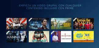 Vídeo Grupal en Amazon Prime Video cómo probar